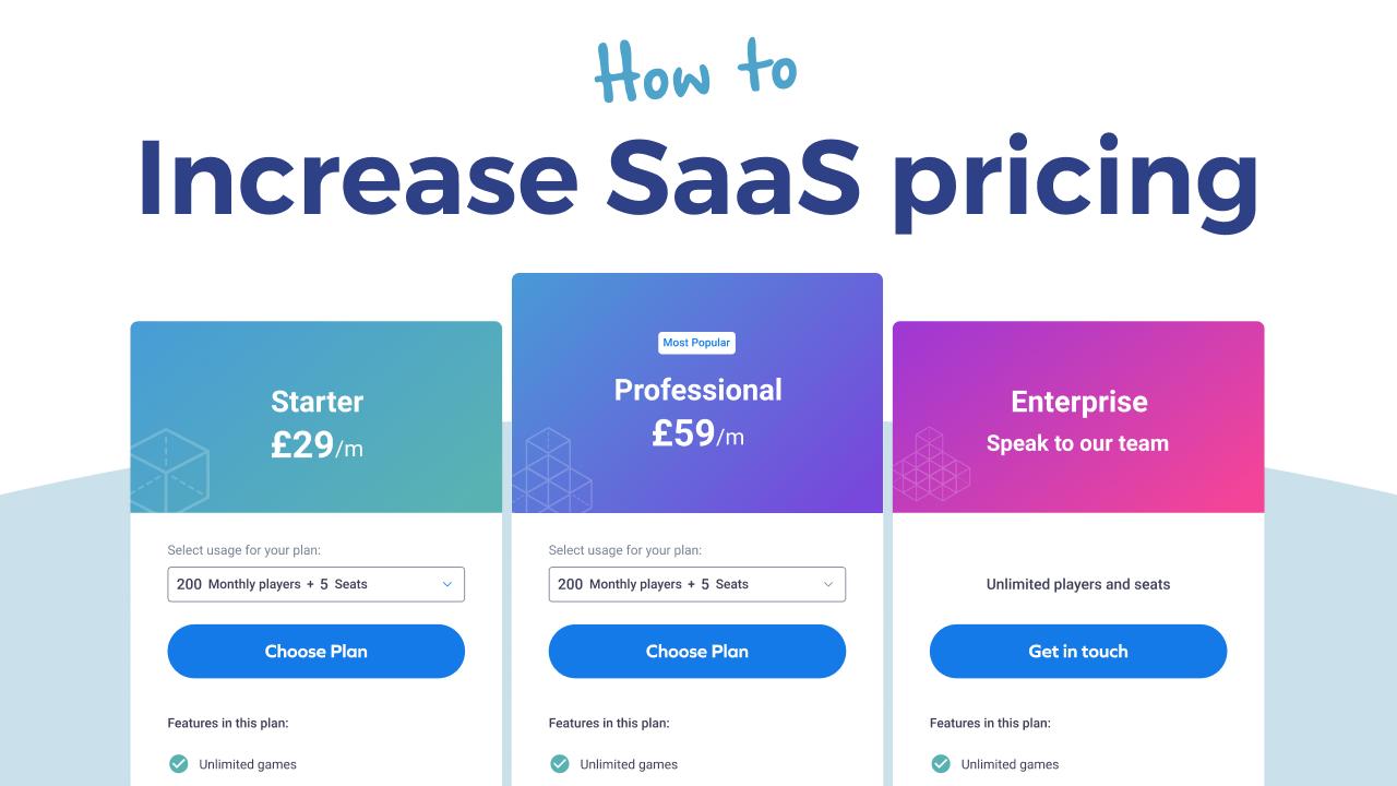 SaaS Pricing Increase